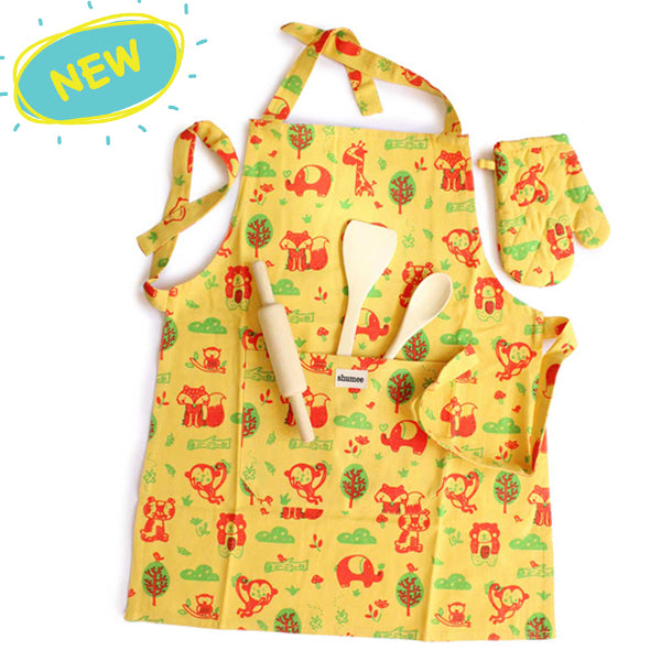 10% Off on Lil Chef's Apron Set | Kids Cooking Toys India - Shumee