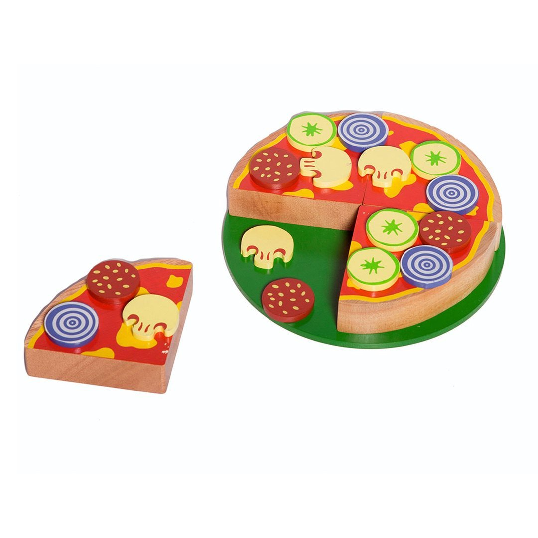 Wooden Toy Pizza