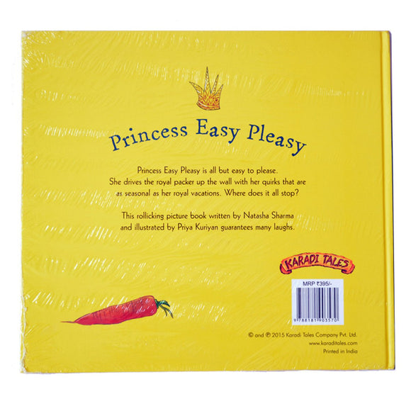 Buy Princess Easy Pleasy story book Natasha Sharma for children at Shumee online store for kids