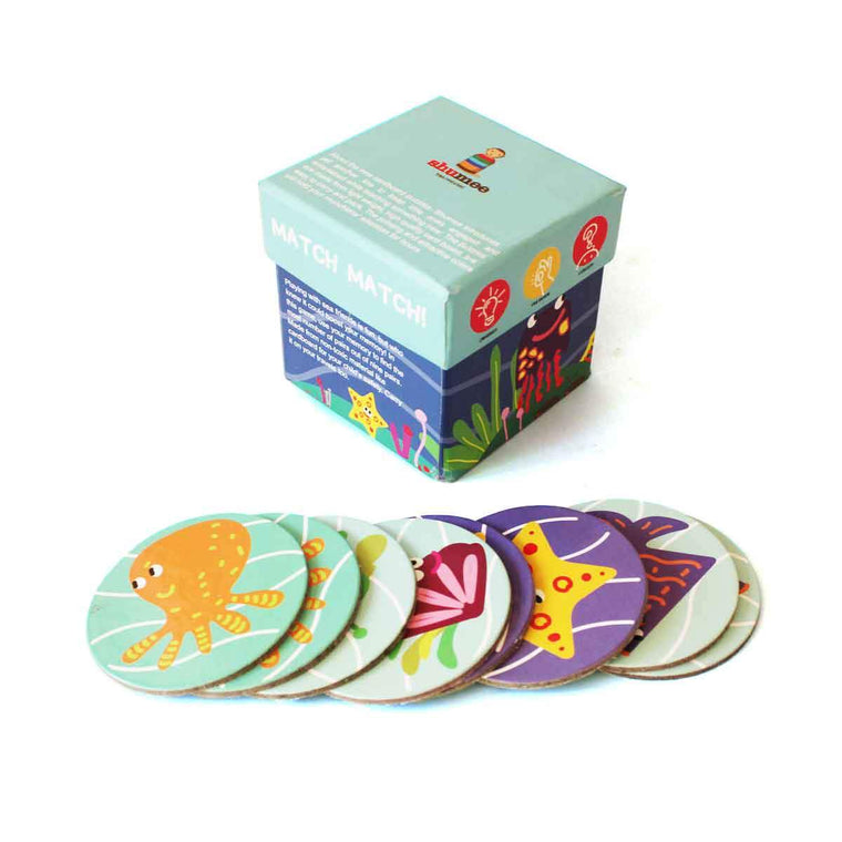 Sea-Side Memory Card Game
