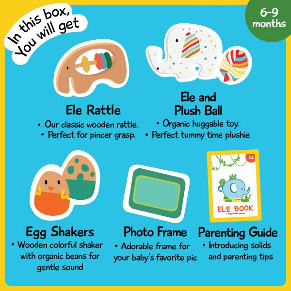 Ele's Boxes - Box of Play for Babies