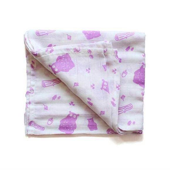 Cutest Organic Baby Swaddles - Bear | Free Shipping - Shumee