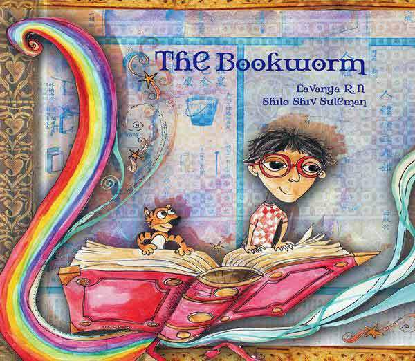 The Bookworm - by Lavanya | Free Shipping - Shumee