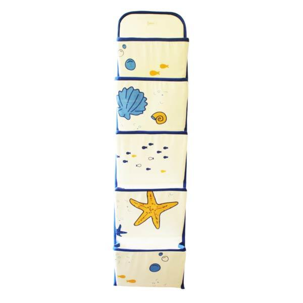 Shells and Stars Wall Organizer