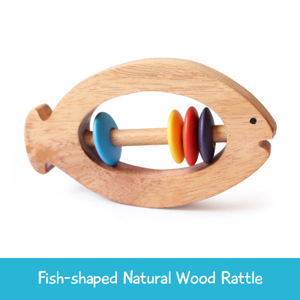 Fish Rattle for Babies