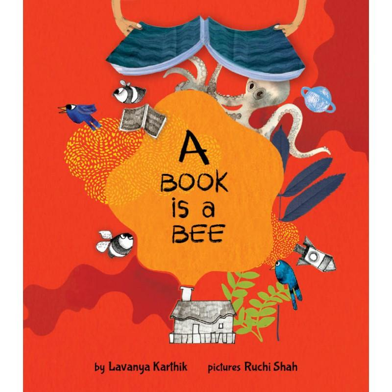 A Book is a BEE | Free Shipping - Shumee