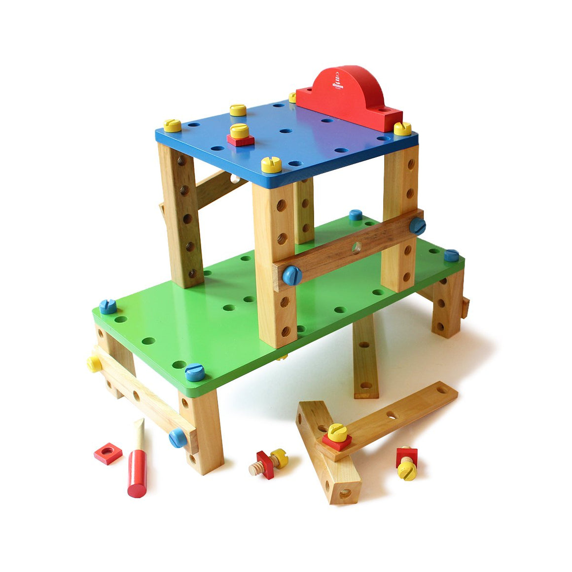 Educational Wooden Construction Toy for Kids | Free Shipping - Shumee