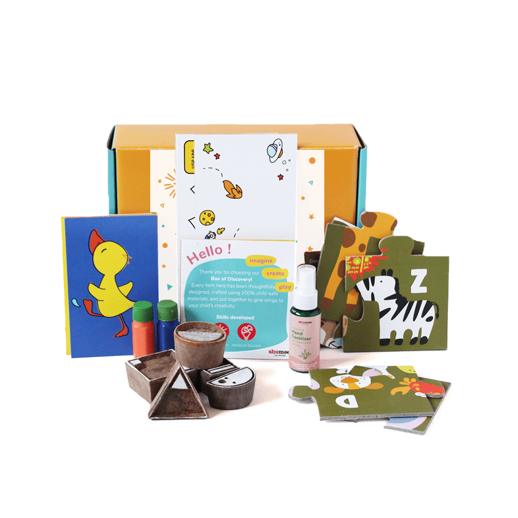 Activity Box For Toddlers