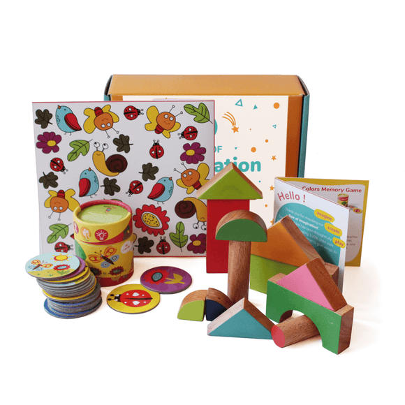 Box of Imagination | Activity Box For 2 Year Old+ | Free Shipping