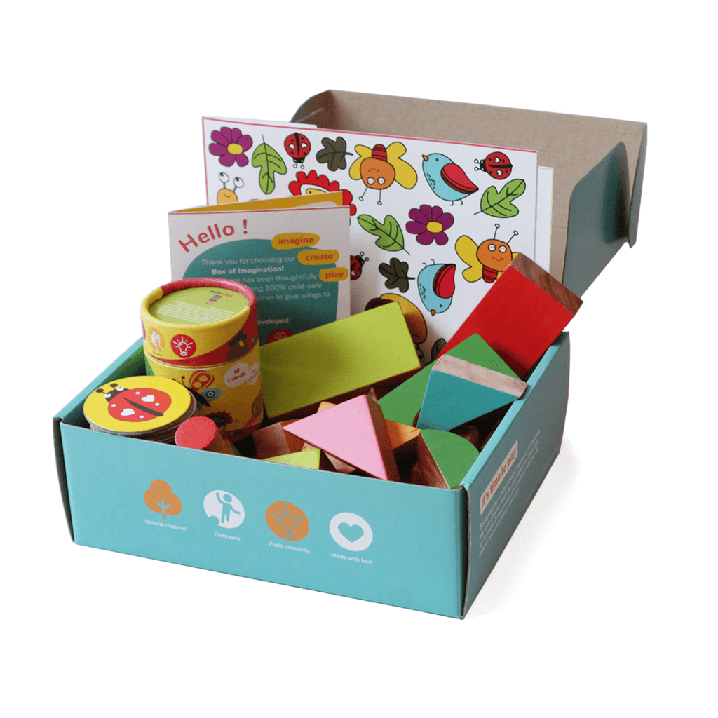 Box of Creativity for Toddlers (2+ years)