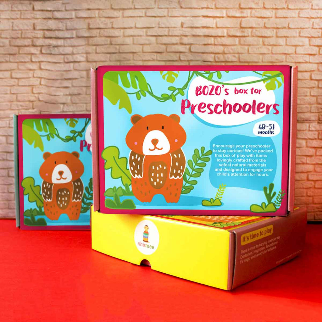 Bozo Boxes - Box of Play for Preschoolers