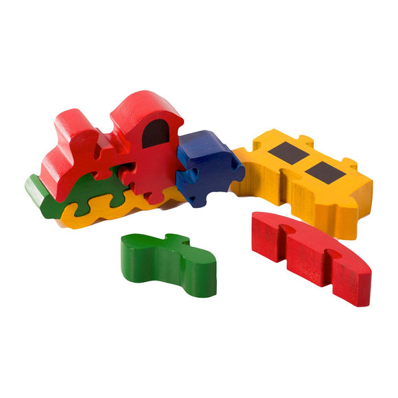 Train Jigsaw Puzzle for Kids
