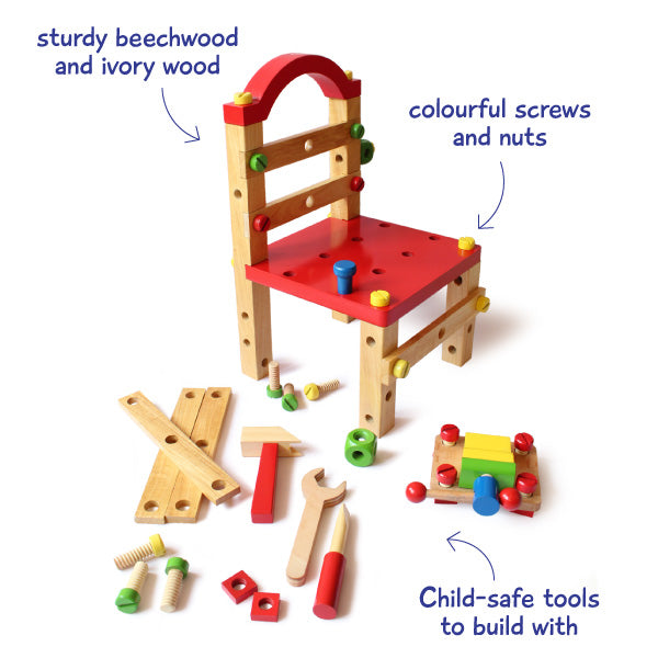 Build A Chair DIY Set