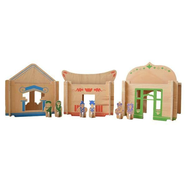 Buy Wooden Doll House India | Free Shipping - Shumee