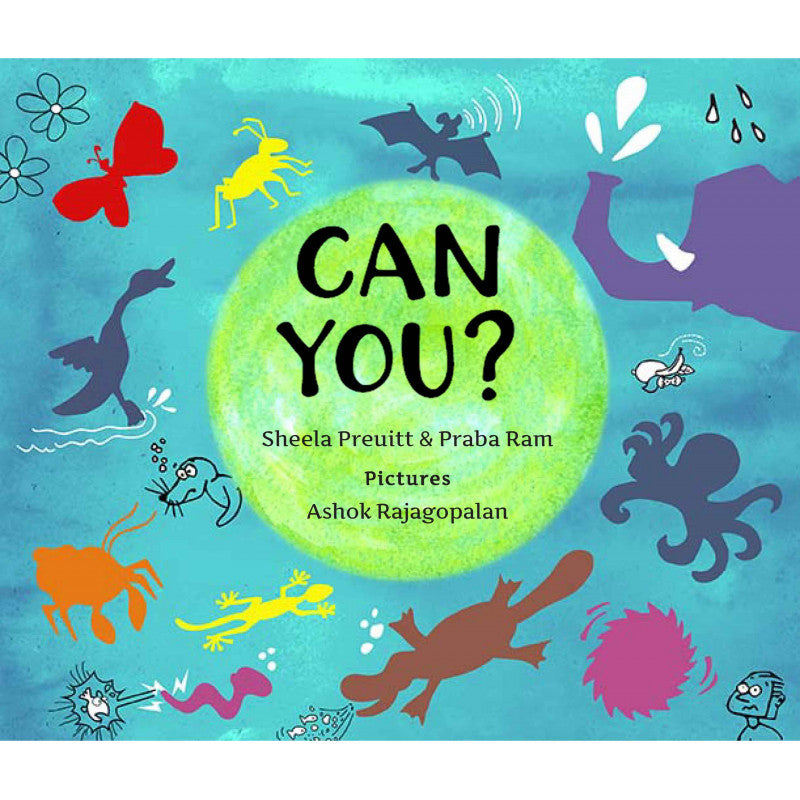 Can You? (English) - Author : Praba Ram & Sheela Preuitt