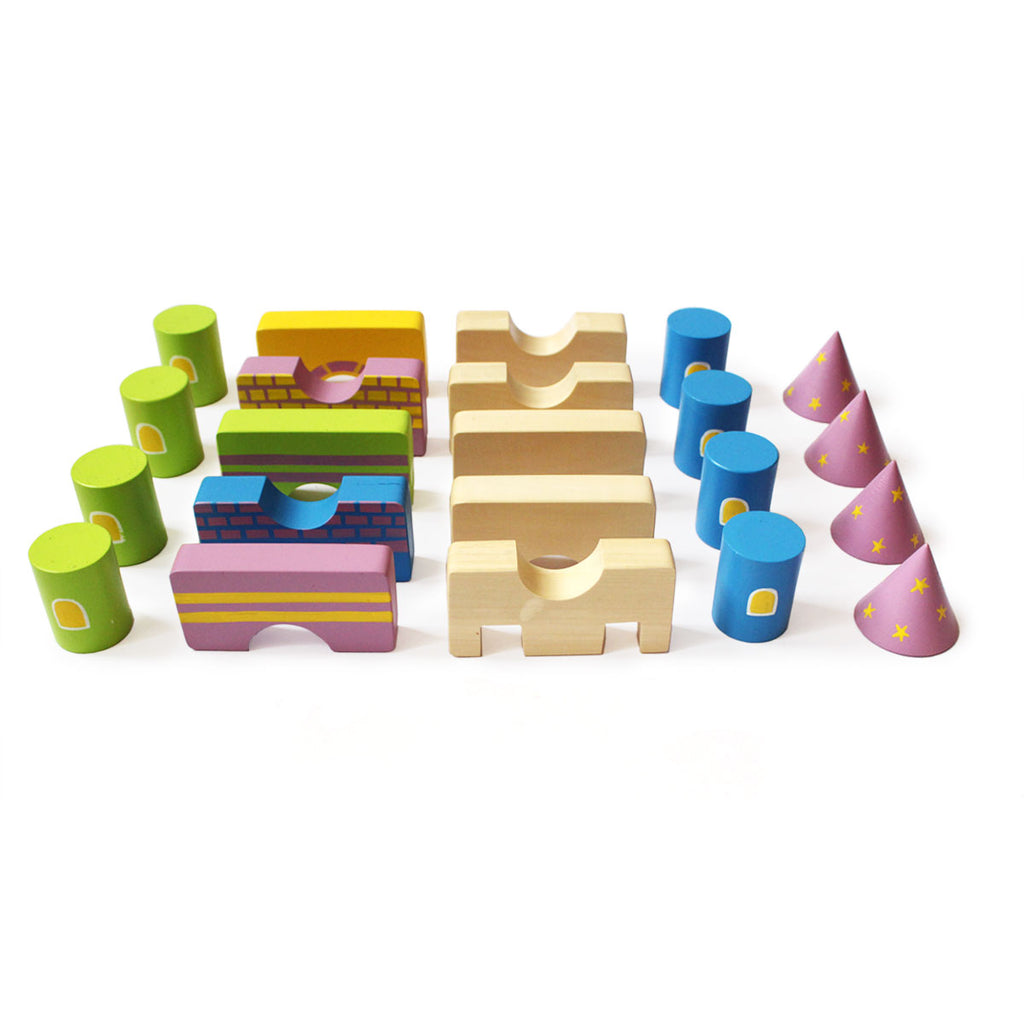 Starry Castle Wooden Blocks