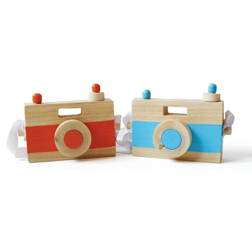 10% Off | Wooden Toy Camera for Toddlers and Preschoolers