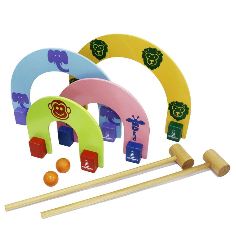 Jungle Croquet Set