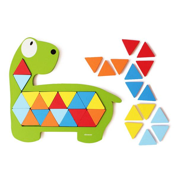 Buy Wooden Dinosaur Puzzle Online | Free Shipping - Shumee