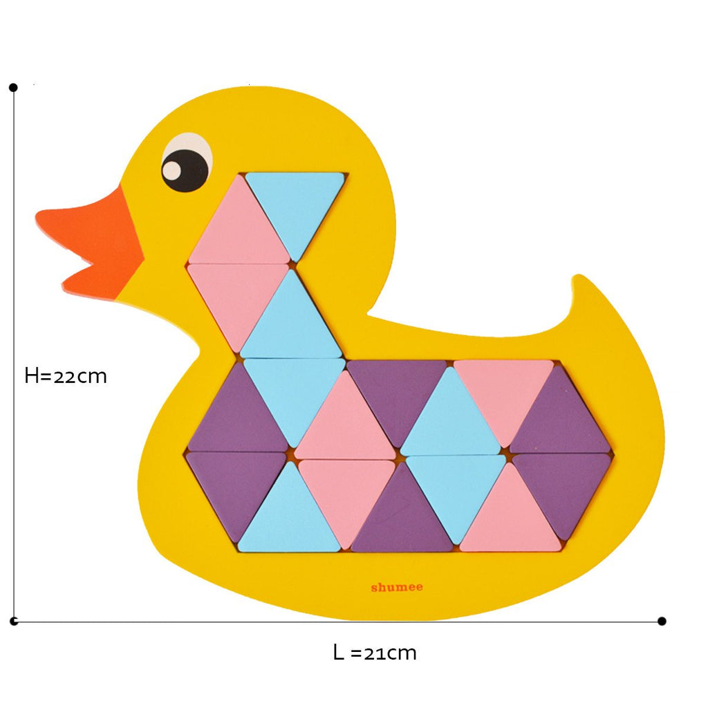 Quack-a-Duck mosaic puzzle - Shumee