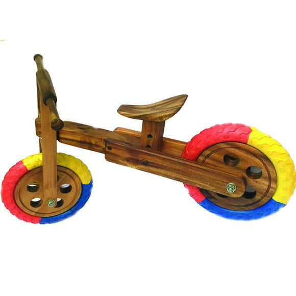 Eco Friendly Wooden Toddler Balance Bike