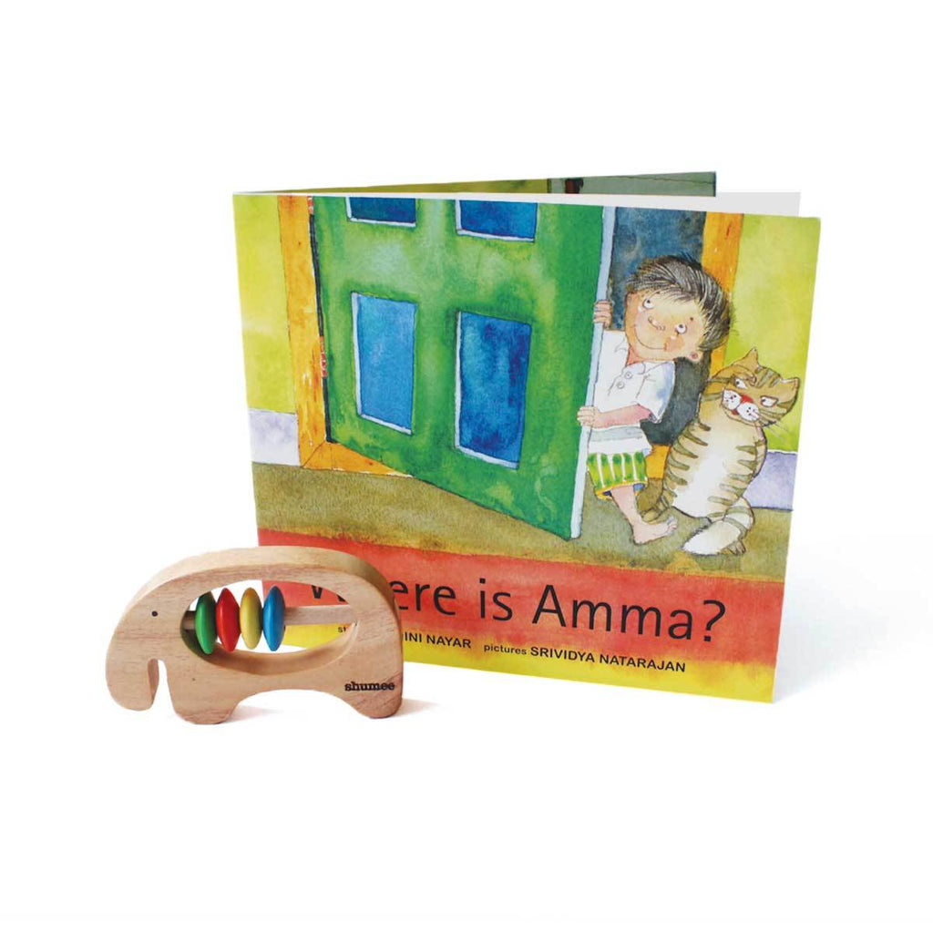 Ele Rattle and Where is Amma Book Combo