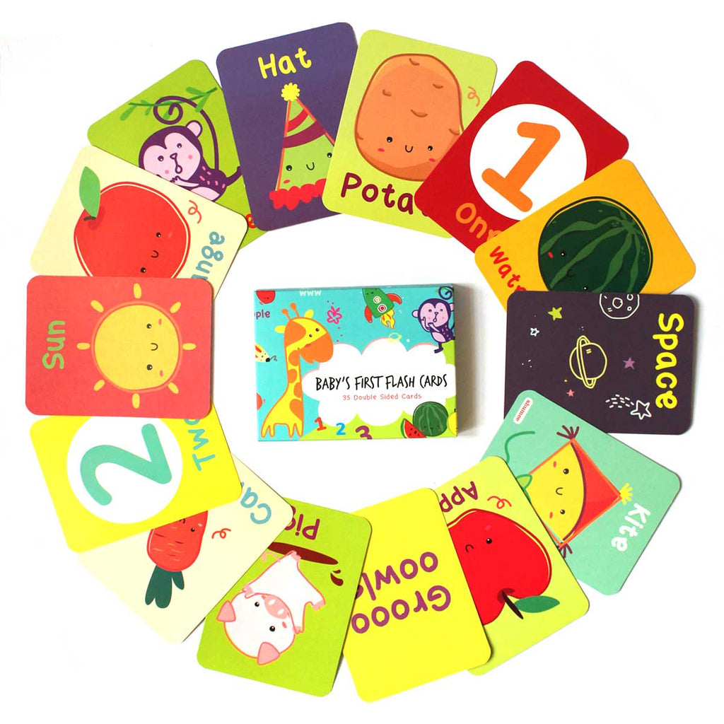 Educational Flash Cards for Toddlers & Babies - Shumee