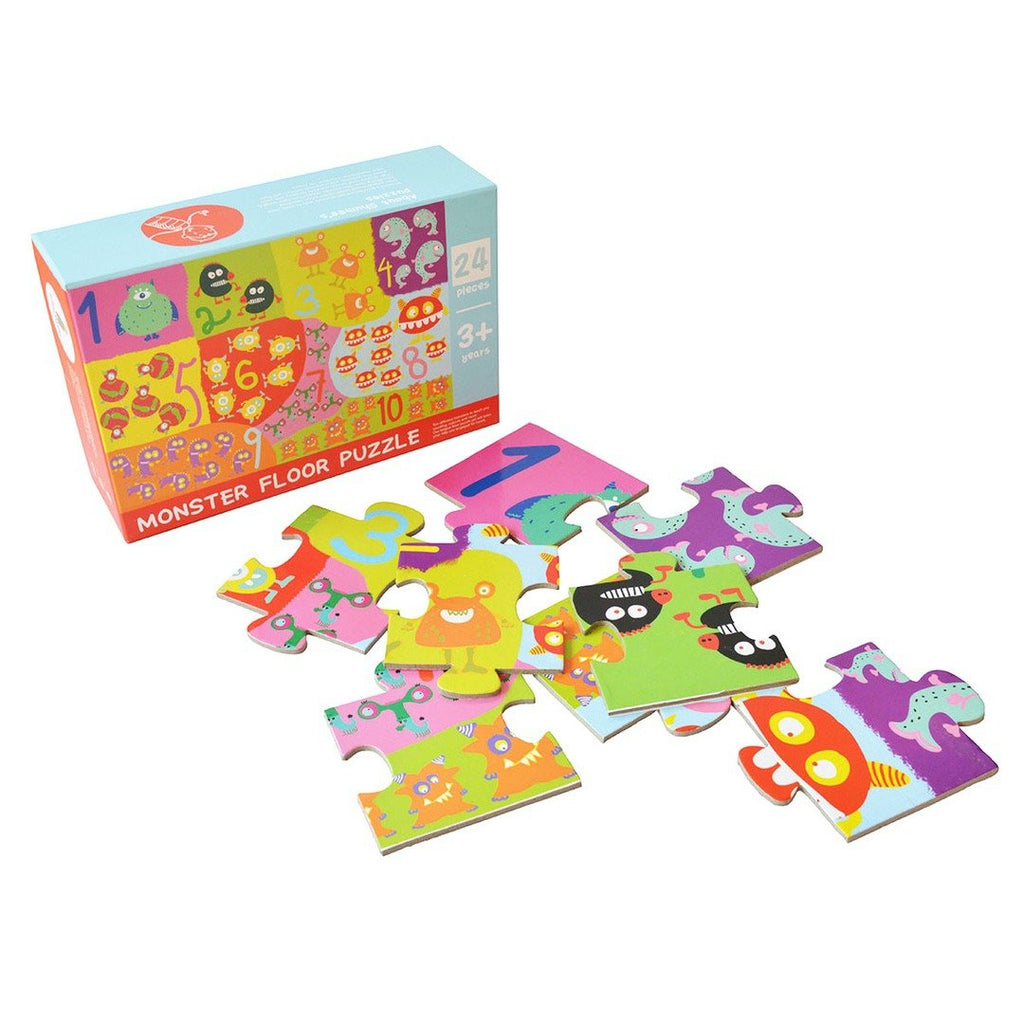 Monsters Floor Puzzle | Free Shipping - Shumee