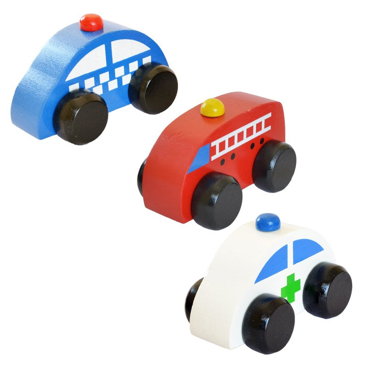 Help Squad - Wooden Toy Cars Online | Free Shipping - Shumee