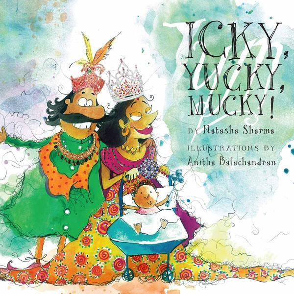 Buy children's & kids' learning story books at Shumee online - Icky Yucky Mucky - Natasha Sharma