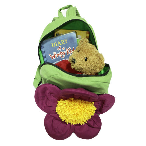 Eco Friendly Jazzy The Flower Cotton Bag For Little Treasures