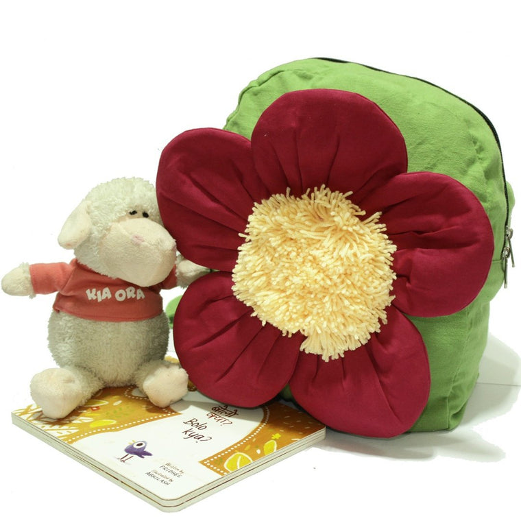 Jazzy the Flower - Toddler Backpack Bag | Free Shipping - Shumee