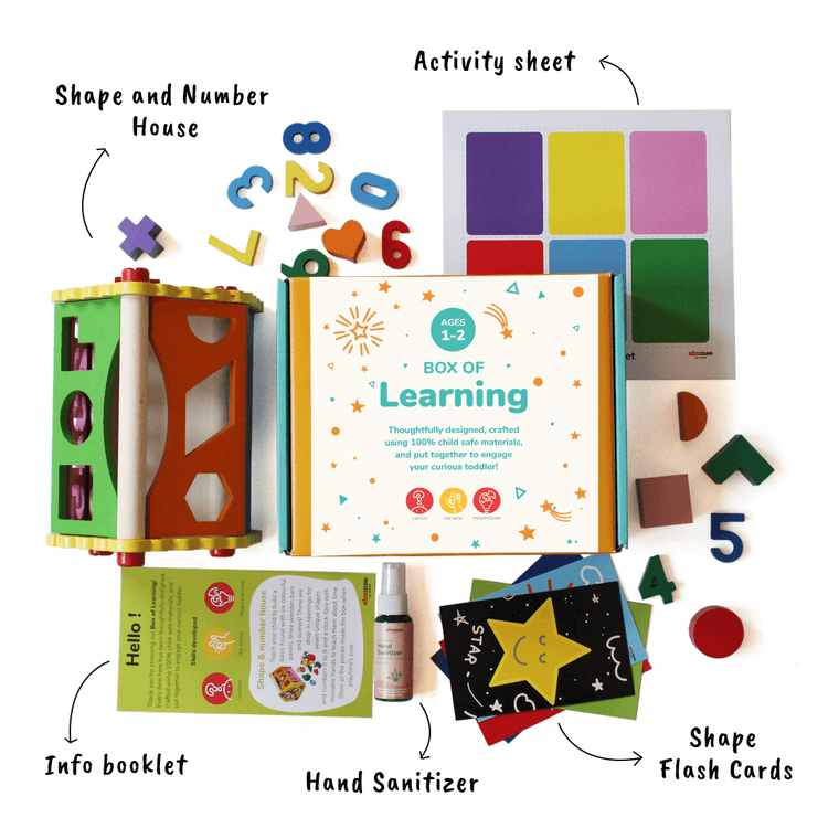 Box of Learning for Babies (1+ years)