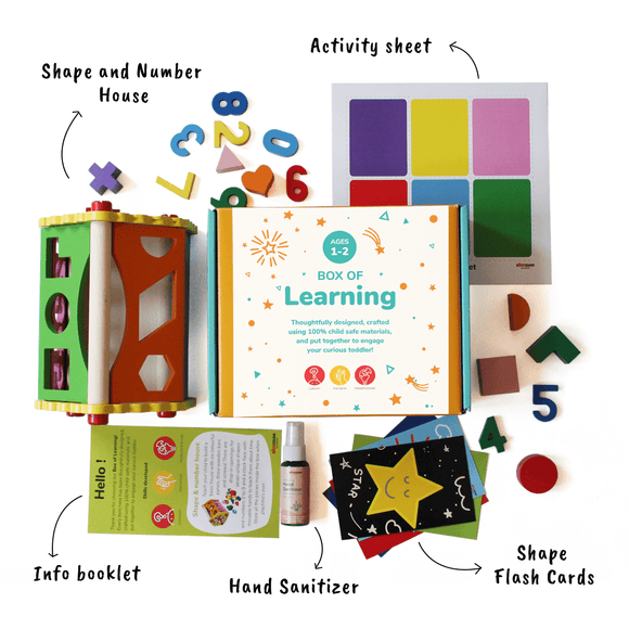 Box of Learning - Fun with Shapes and numbers