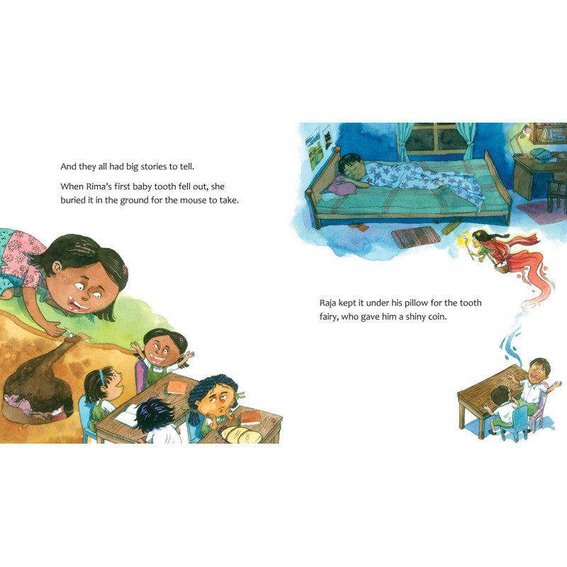 Lila's Loose Tooth (English) - Author : Mamta Nainy