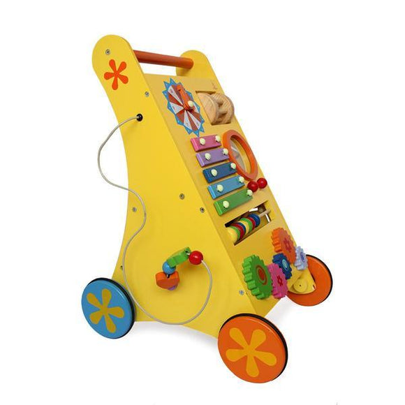 Musical Wooden Baby Walker | Free Shipping - Shumee