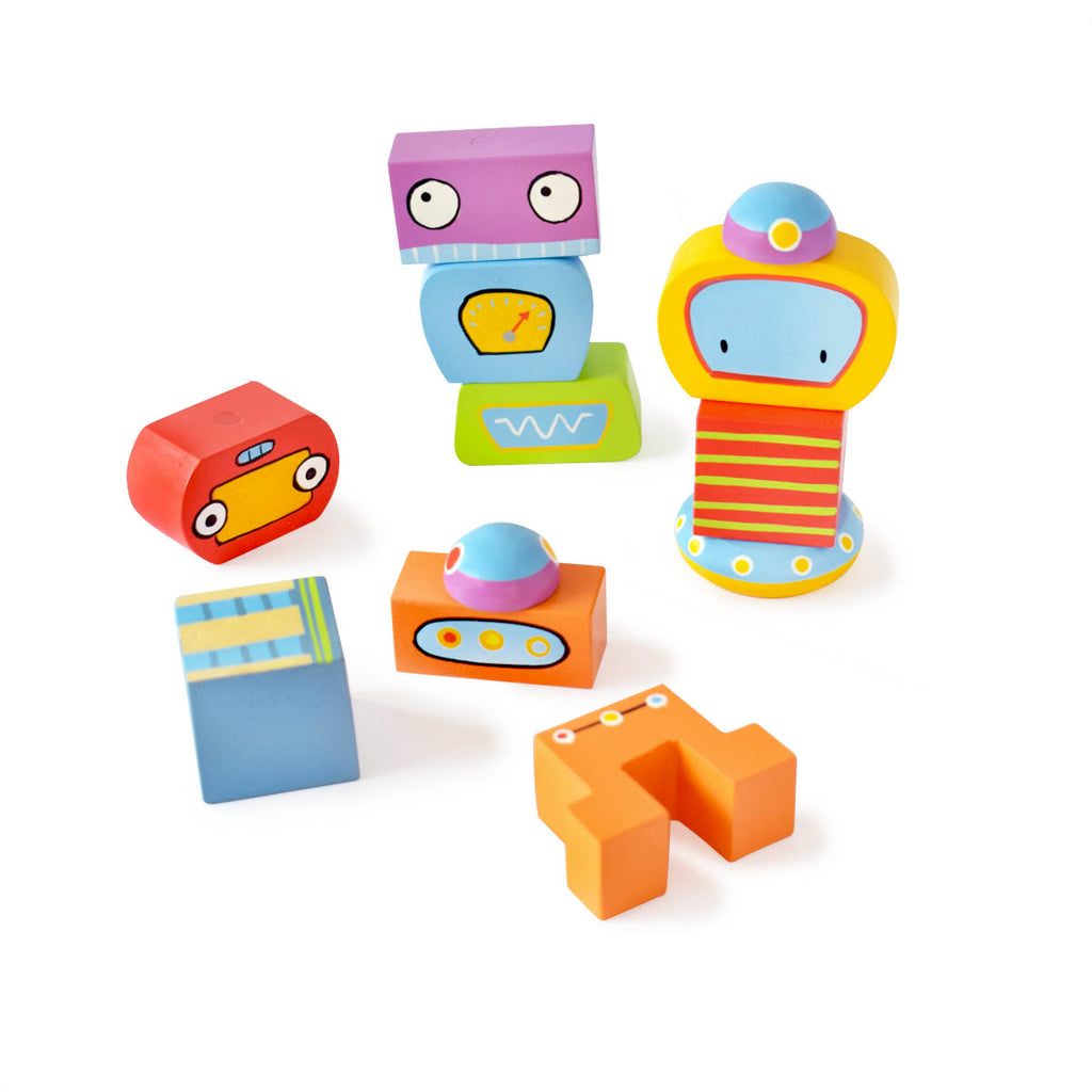 Magnetic Robo Blocks