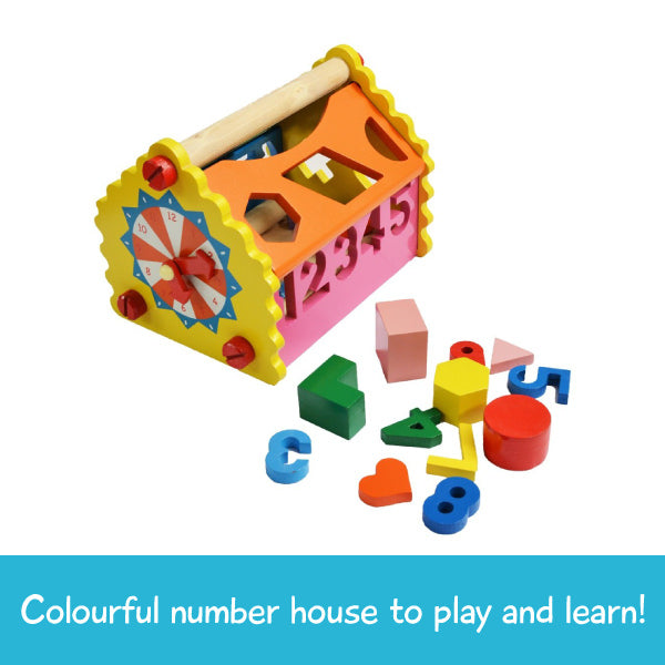 Shape and Number House