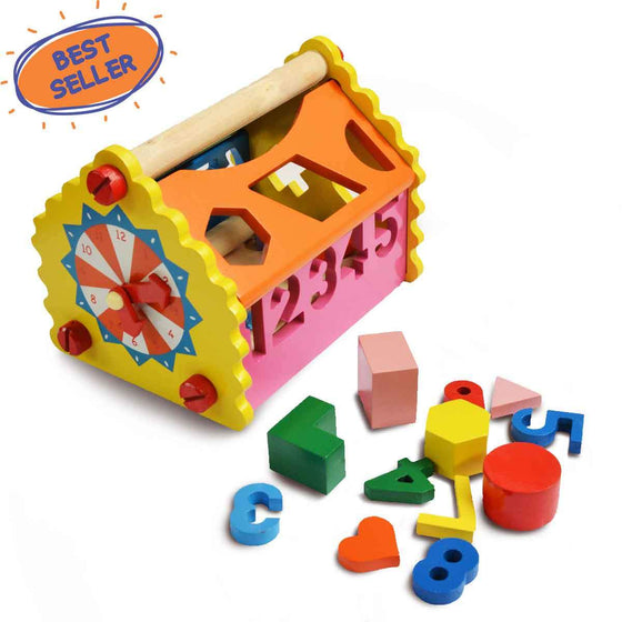 Shape and Number Toy House | Free Shipping - Shumee
