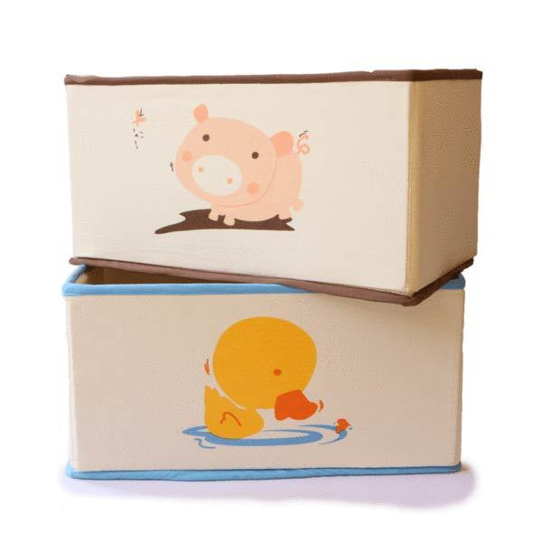 Wooden Toy Storage Box