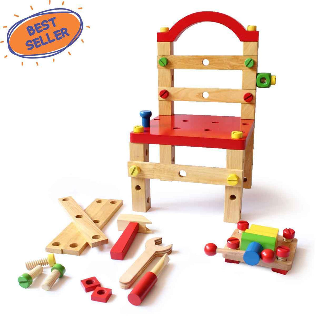 Shumee Tools Chair for Creative Kids | Free Shipping