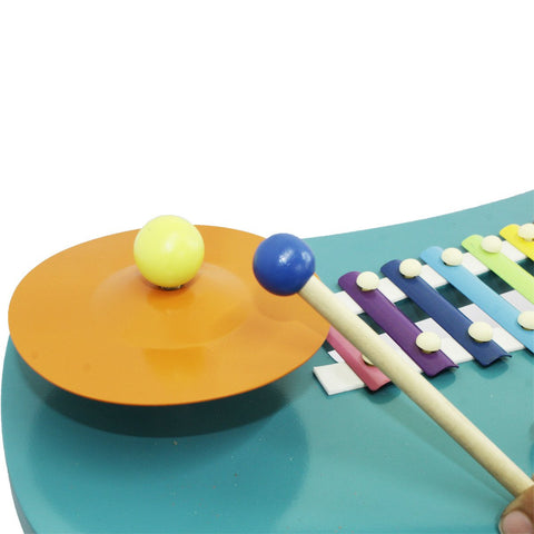 Wooden Toddler Rock On Orchestra Musical Table
