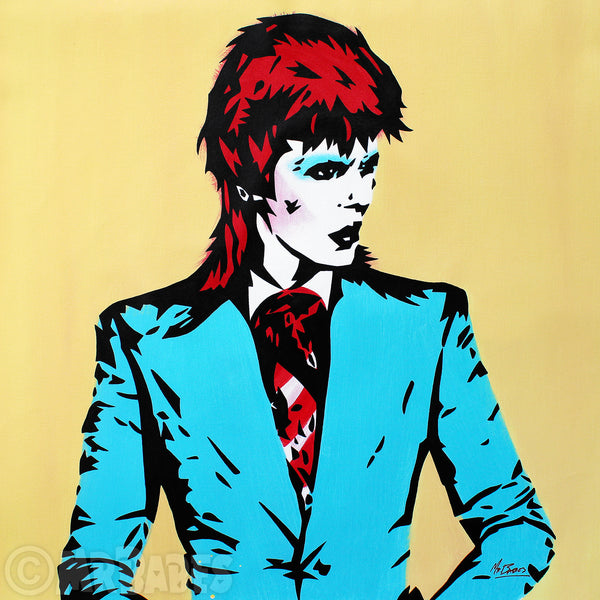 """David Bowie: Life On Mars?"""
