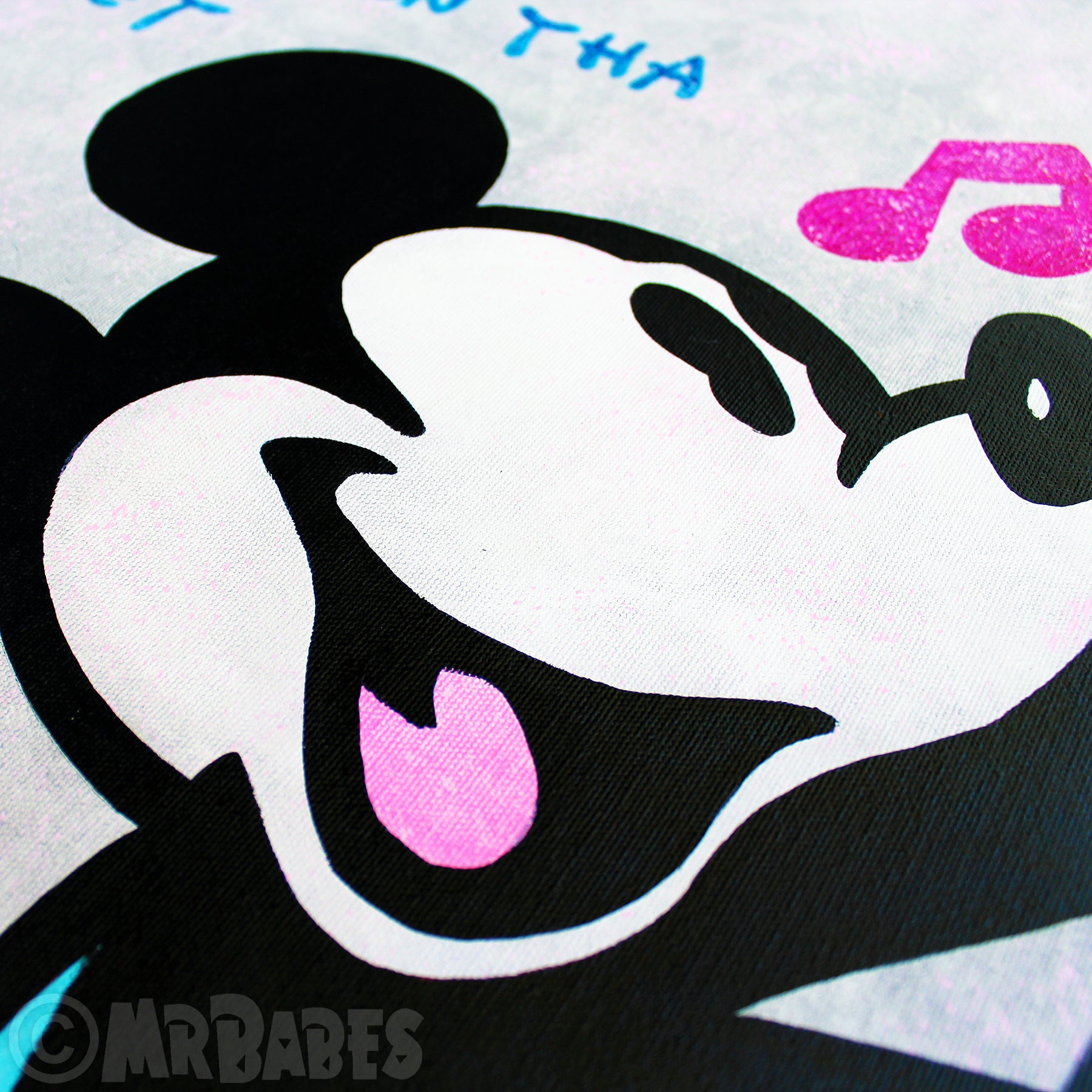 """Mickey Mouse In The Hood"""