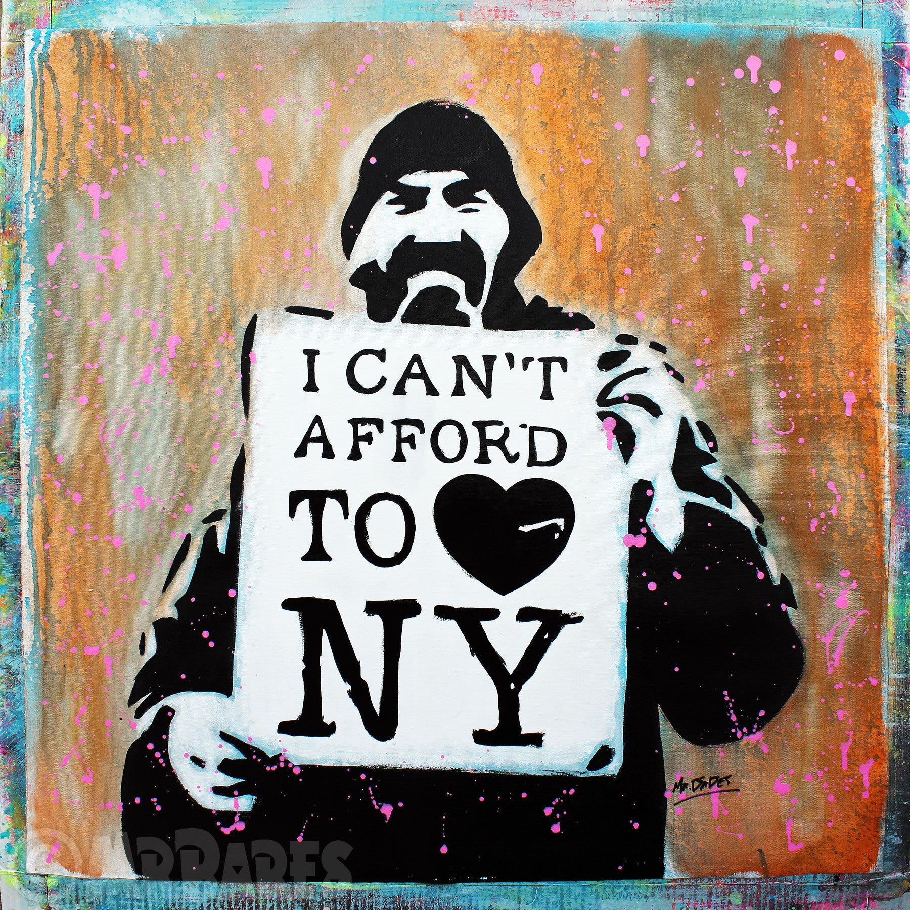 """I (Can't Afford To) Love New York"""