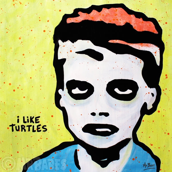 """Zombie Kid (I Like Turtles)"""
