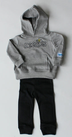 Neezies Two-Piece Set (grey and black)