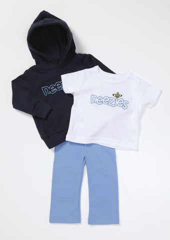 Neezies Blue Three Piece Set