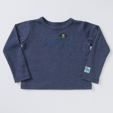 Little Man Long Sleeve T (denim)