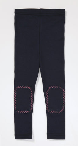 Toddler Diva Leggings - Navy and Pink